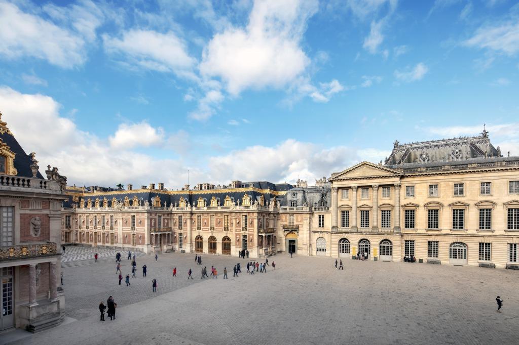 ベージュ、ヴェルサイユ宮殿、コース