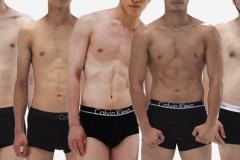 スリム〜ぽっちゃ男まで!体型別カッコいい男性5人のカラダ