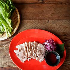 韓国風ゆで豚 ポッサム