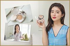 """""""素肌に見える感じが好き"""" 大口智恵美さんが語る 「ドゥ・ラ・メール ザ・ルミナス クッション ファンデーション」の魅力"""