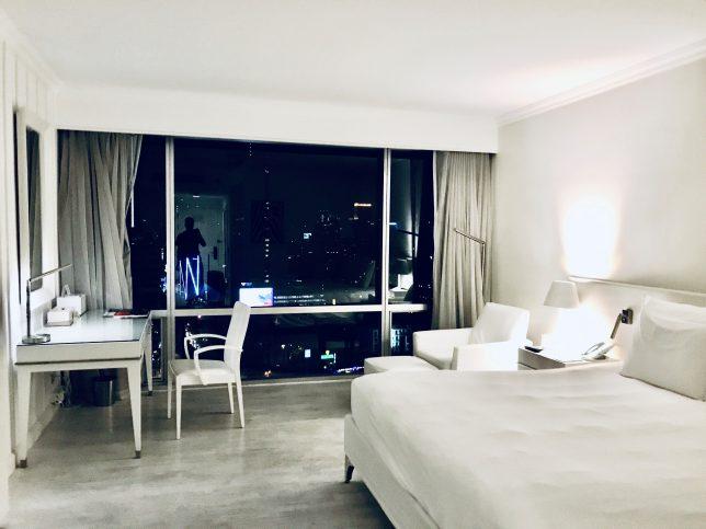 バンコクで滞在したホテルの部屋