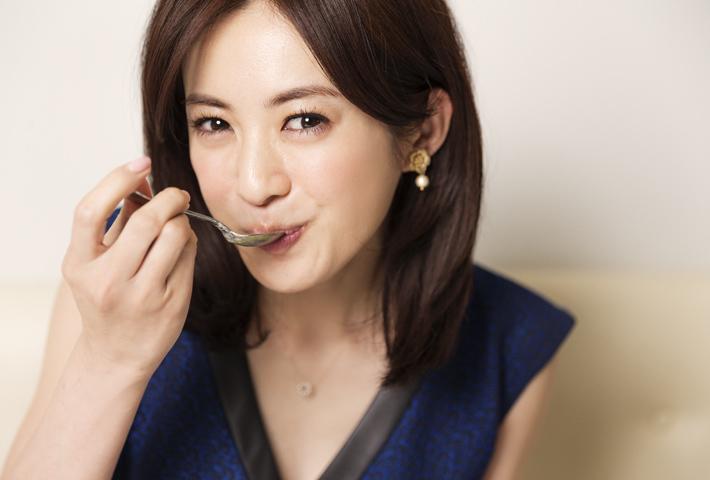 高垣麗子の食事画像