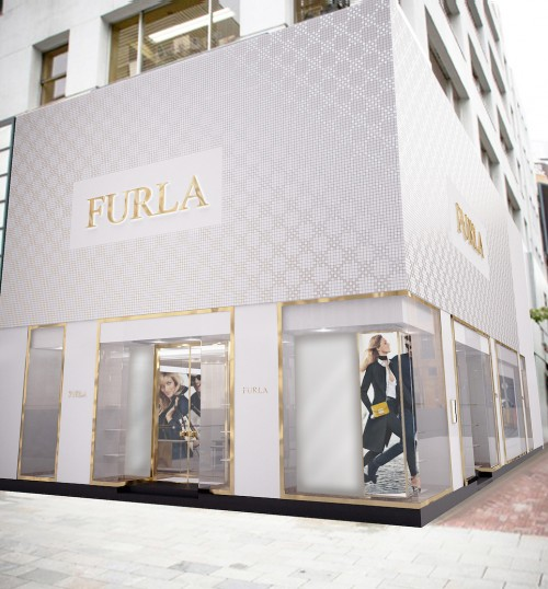 FURLA Ginza Shop Front_2015