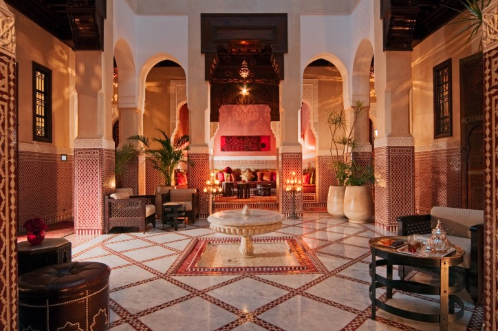 Royal Mansour, Marrakech, Morocco Photo by Alan Keohane/still-images.net