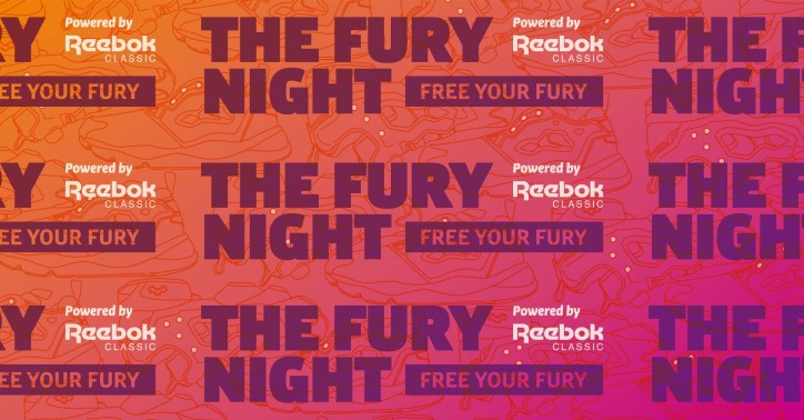 FURY NIGHT powered by Reebok CLASSIC_main